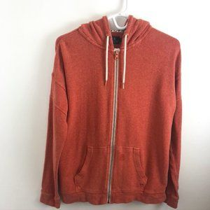 Volcom Lived In Lounge Full-Zip Pink Hoodie